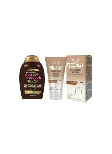 Organix Organix Shea Soft Smooth Şampuan 385 Ml+Redist Lightening Cilt Beyazlatıcı Krem 75 Ml Renksiz
